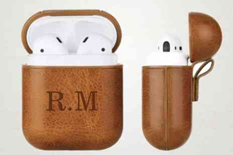 Personalised Gifts Market - One or Two Personalised Cases for AirPods - Save 80%