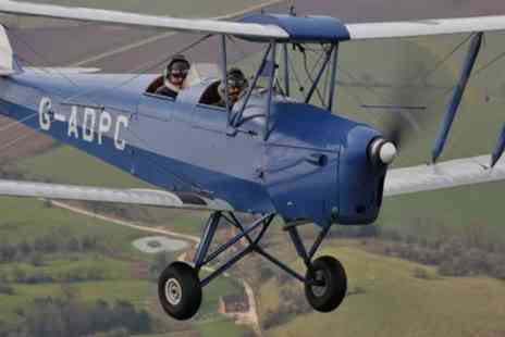 Vintage Flying - 45 Minute Tiger Moth Vintage Flying Experience  - Save 60%