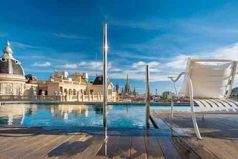 Ohla Barcelona - Five Star Luxury Collection Contemporary Hotel with Michelin Star Restaurant for two - Save 67%