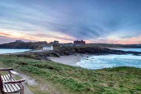 Fistral Beach Hotel & Spa - Four Star Adults Only Seafront Escape on the Cornish Coast for two - Save 0%