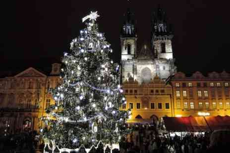 Prague Christmas Market Break - Four Star 2 To 4 Nights at Theatrino Hotel with Breakfast, Flights and Optional Xmas Market Tour - Save 0%