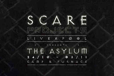 Scare Projects - Ticket to the Asylum tour by the award winning Scare Projects - Save 38%