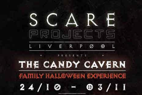 Scare Projects - Ticket to the Candy Cavern experience or Group ticket for four people - Save 47%
