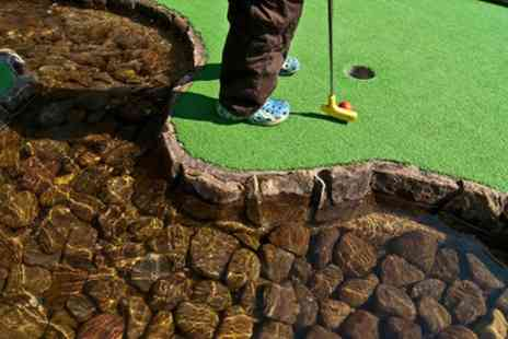 Highfields Park Adventure Golf - 18 Hole Game of Crazy Golf for Up to Four - Save 50%