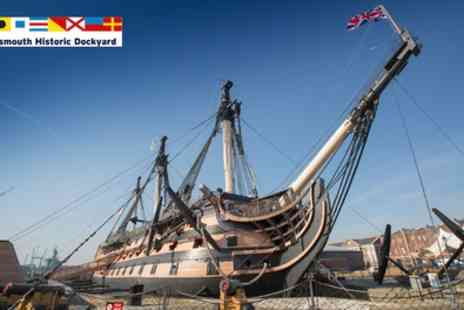 Portsmouth Historic Dockyard - Full Navy Ticket Annual Pass - Save 24%