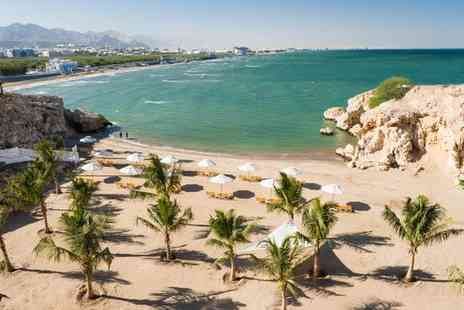 Crowne Plaza Muscat - Four Star Elegant Clifftop Hotel with Private Beach and Optional Salalah Stay - Save 0%