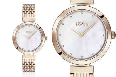 Best Watch Company - Hugo Boss ladies HB1502480 watch - Save 63%