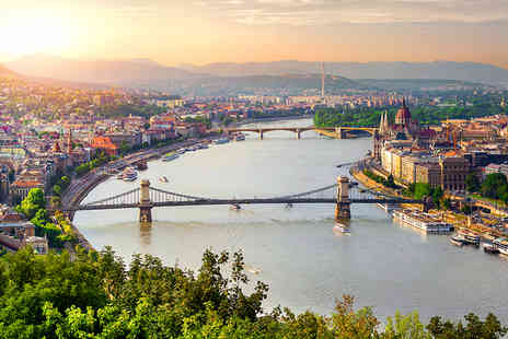 Crystal Travel - Two nights Budapest escape including flights and wine and cheese tasting festival experience - Save 24%