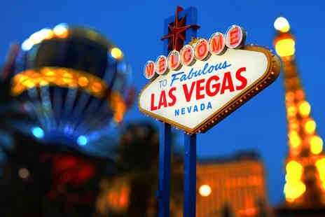 Crystal Travel - Three nights Las Vegas getaway with return flights - Save 70%