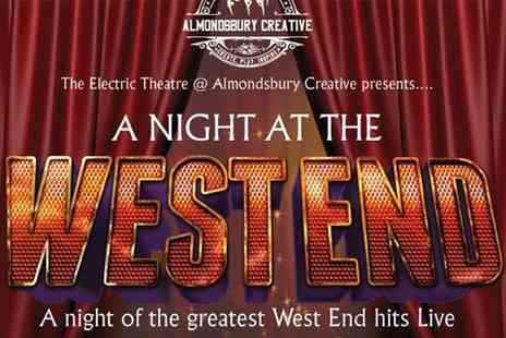 Almondsbury Creative - Tickets and pre show Christmas buffet for two people at A Night in the West End on 13th December 2019 - Save 56%