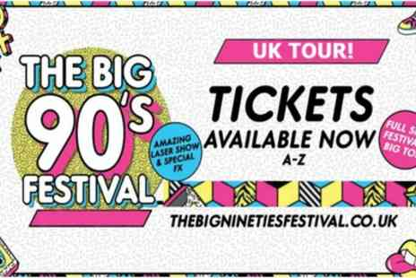 The Big Nineties Festival 2019 - One General Admission ticket from 11th To 25th October - Save 25%