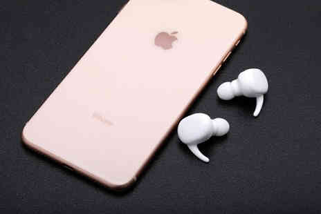 MBLogic - TWS 5.0 Wireless Earphones with Charging Case Choose from 2 Colours - Save 75%