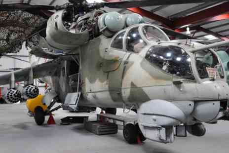 The Helicopter Museum - Family Ticket for Two Adults and Three Children - Save 59%