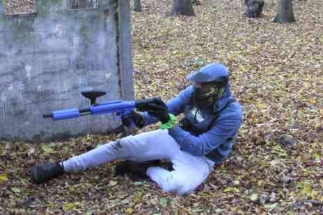 Virgin Experience Days - Low Impact Paintball Adventure for Two - Save 0%