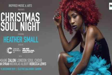 Christmas Soul Night featuring Heather Small - One general admission ticket - Save 50%