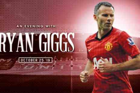 An Evening with Ryan Giggs - One, two or four standard tickets on 25 October - Save 33%