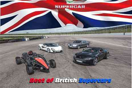 Supercar Drive Days - Best of British two car six lap supercar driving experience - Save 0%
