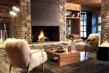 Hotel Le M De Megeve - Five Star Contemporary Chalet-Inspired Spa Hotel for two - Save 38%