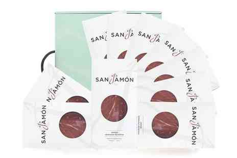 San Jamon - Segovia hamper with finely sliced Serrano ham - Save 54%