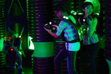 Newport Battlefield Laser Tag - 45 Minute Game of Laser Tag for Up to Four - Save 54%