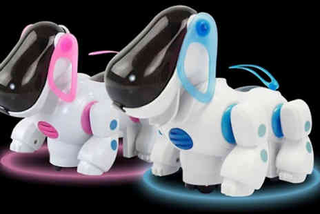 My Blu Fish - Kids Robotic Dog Toy Choose from 2 Colours - Save 67%