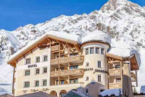 Hotel Chasa Montana - Four Star Stylish Chalet in Largest Connected Ski Resort in Eastern Alps for two - Save 51%
