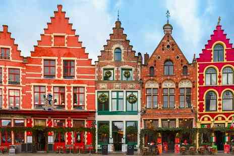 Hotel NH Brugge - Perfectly Placed Hotel in UNESCO Listed Destination for two - Save 71%