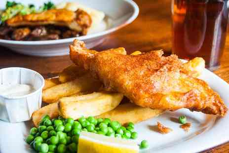 White Bull at Gisburn - Meal for Two with bubbly - Save 49%