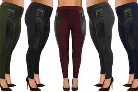 Groupon Goods Global GmbH - Womens Plus Size Smart Leggings - Save 0%