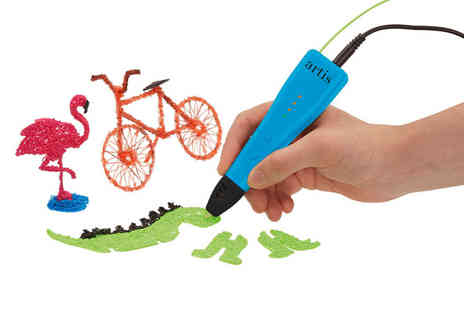 CJ Offers - Artis 3D pen set - Save 33%