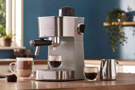CJ Offers - Espresso maker with milk froth arm - Save 42%