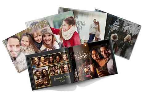 Pinterprix - A4 hardback photo book - Save 83%