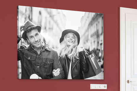 Printerpix - Personalised landscape photo canvas choose from six sizes - Save 33%