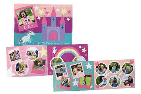 uPhotogifts - Personalised softback A5 childrens photobook - Save 50%