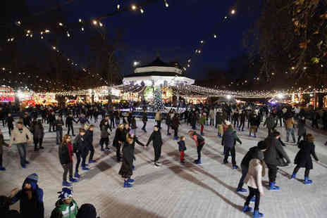 M&Ds Events - Tickets to Paisley Winterfest for one child with an ice skating session and Carousel ride - Save 43%