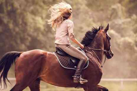Foxhills Riding Centre - Horse Riding Birthday Party for Up to Ten Children - Save 35%