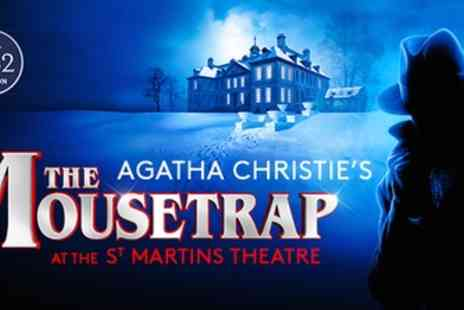 St Martins - Tickets to see The Mousetrap 2019 To 2020 - Save 0%