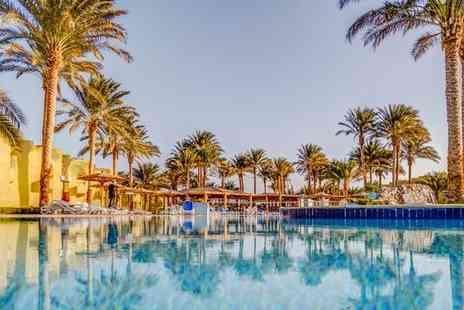 Palm Beach Resort - Four Star All Inclusive Retreat on Red Sea with Exciting Optional Nile Cruise for two - Save 91%
