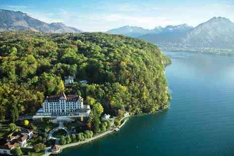 Le Palace De Menthon - Five Star Charming Hotel Surrounded by Majestic Lakes and Mountains for two - Save 68%