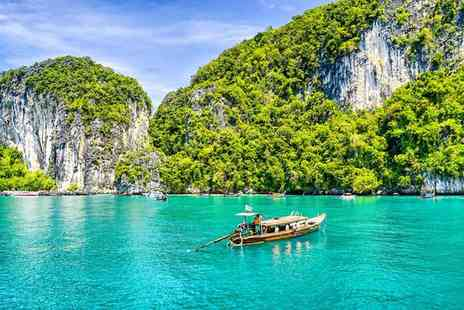 Krabi La Playa Resort - Four Star Blissful Ao Nang Beach and Serene Resort with Optional City Escape for two - Save 80%