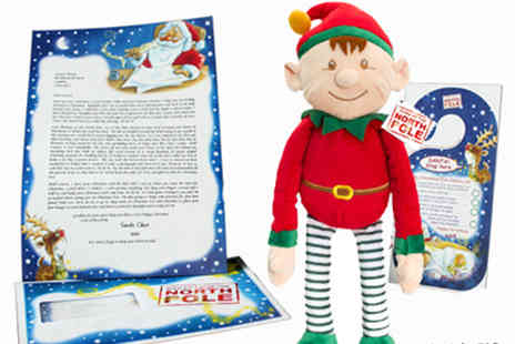 Santa.co.uk - Personalised Santa letter, plush North Pole elf and Christmas Eve door hanger - Save 44%