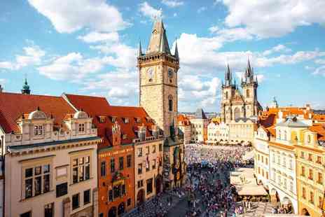 Super Escapes Travel - Two nights Prague holiday with breakfast and return flights - Save 44%