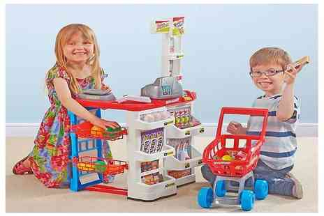 CJ Offers - Supermarket and trolley set - Save 62%