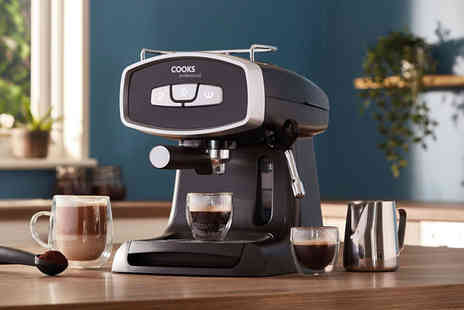 CJ Offers - Cooks Professional 19 Bar espresso machine - Save 46%
