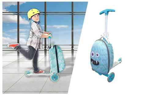 London Exchain Store - Monster suit case travel scooter choose your colour - Save 40%
