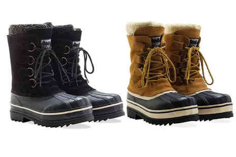 Redfoot - Pair of unisex Groundforce boots choose from two colours - Save 82%