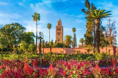 Super Escapes Travel - Four Star Three nights all inclusive Marrakech stay with return flights - Save 34%