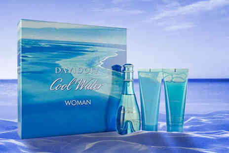 Wowcher Direct - Davidoff Cool Water womens Edt set - Save 35%