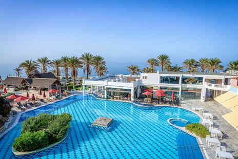 Super Escapes Travel - Five nights half board Crete holiday with return flights - Save 29%