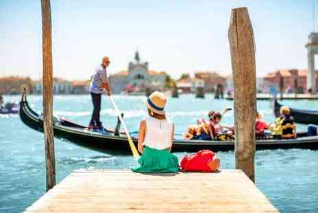 Super Escapes Travel - Two nights Venice city break with breakfast and return flights - Save 30%